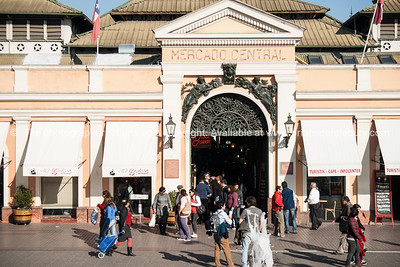 The Mercado Central de Santiago is the central market of Santiago de Chile. It was opened in 1872,  a major fish and meat market, and tourist attraction.