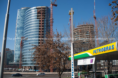 Street scenes and buildings.Santiago de Chile. Property Release; no.