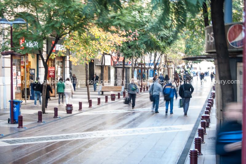 Street scenes and buildings.Santiago de Chile.