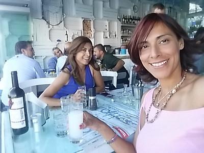 Santorini with Raquel Sep 2017 Carlos Wedding