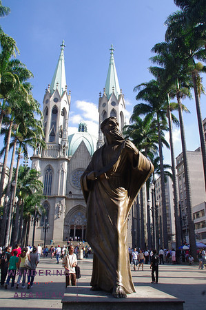 Touring the Sao Paulo Cathedral