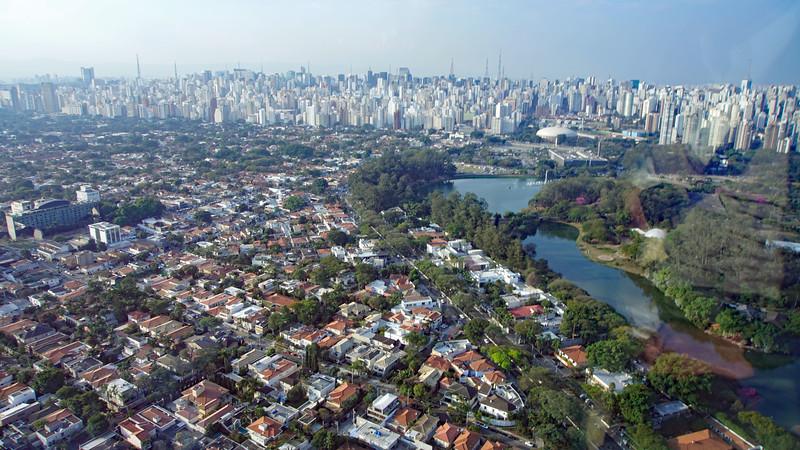 Sao Paulo is simply huge