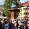 Famous fountain in Sarajevo old town (Turkish part)