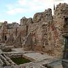 Ruins of caravan-sarai in Sarajevo old town (Turkish part)