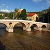 Sarajevo (bridge where the 1st world war started - famous assassination point)