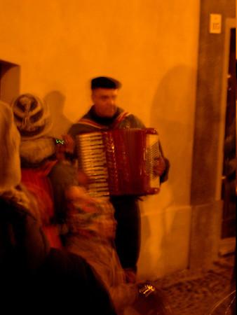 Travelling musicians, Alghero