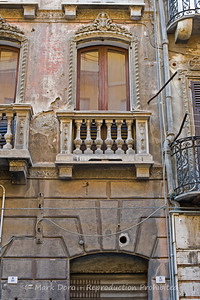House detail in the old city, Cagliari, Sardinia, Italy