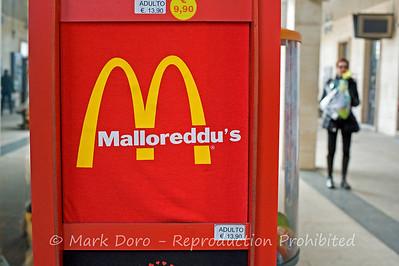 Sardinian humour - Malloreddu's is a Sardinian pasta, Cagliari, Sardinia, Italy