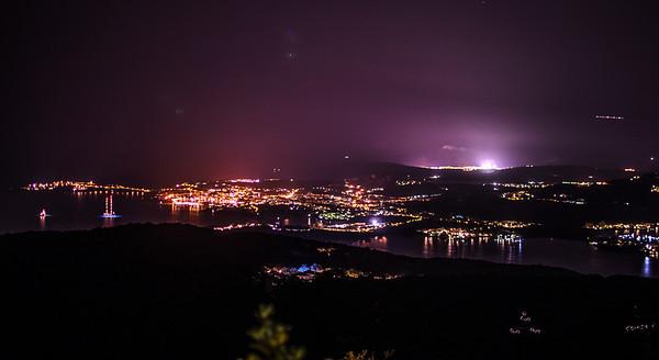 Porto Rotondo at night