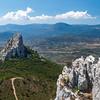 Blick vom Gipfel des Monte Oro