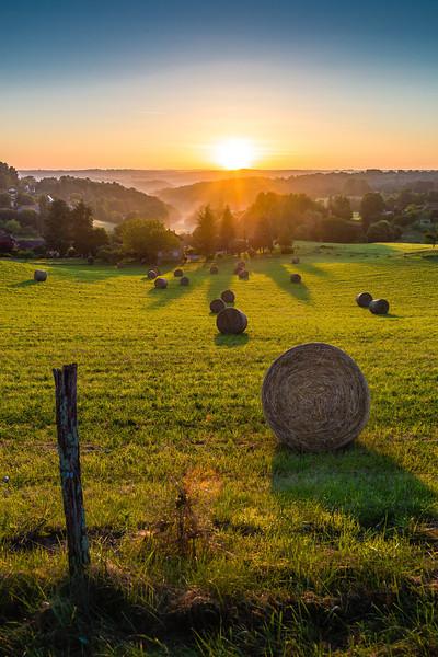 Sunrise in Sarlat Dordogne France Leica M9 + Tri-Elmar f4 MATE