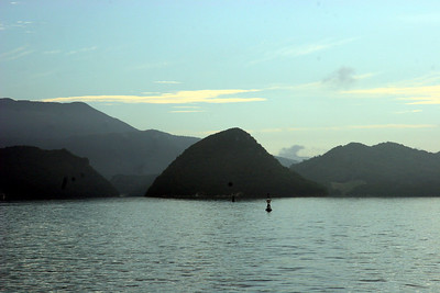 Scenery of Sasebo Bay