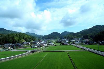 Scenery along Kyushu Highway