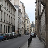 This is a view down Rue de Varenne. Many embassies and consulates are on this street. Didn't know that, but enjoyed the peeks into the gardens and houses.