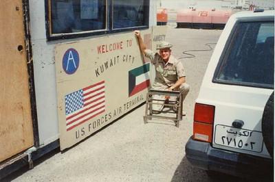 Chris in Kuwait