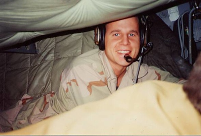 Chris in KC-135