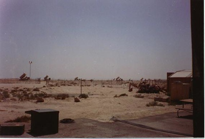 Patriot Missile Battery Tad Town Dahran, Saudi Arabia