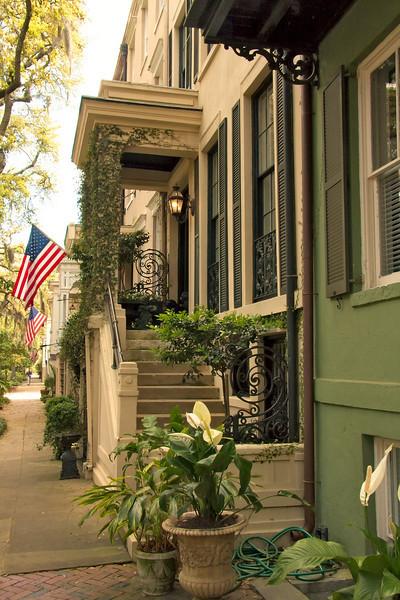 Old Savannah house