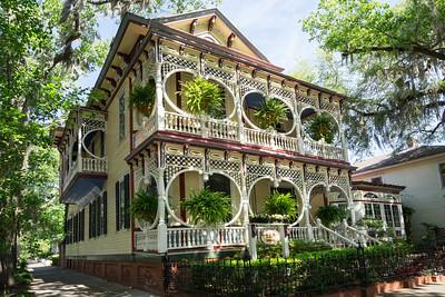 Victorian House, Bull Street, Savannah, Georgia