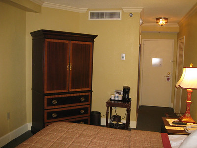 Mills House Hotel room in Charleston