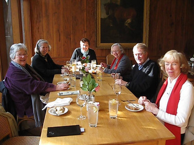 Lunch at Middleton Place, Charleston