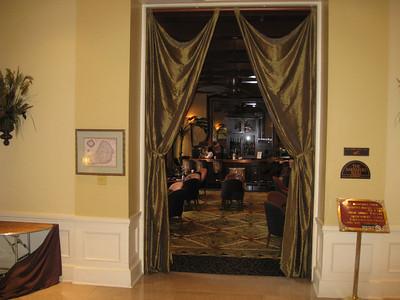 Bar at Mills House Hotel, Charleston
