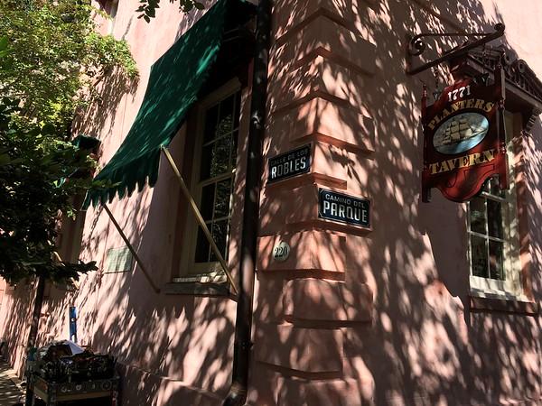 Savannah film set.