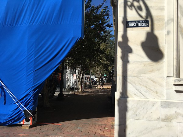 Savannah film set.