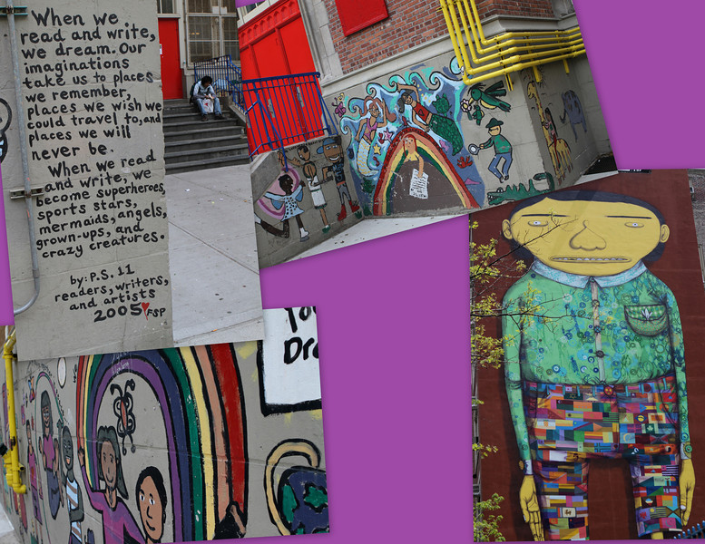 Public School No. 11 colorful message to the present and future generations