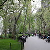 Madison Square Park - seven acres tucked away in New York City