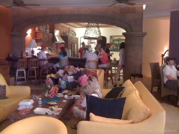 Smuggy dinner at El Palacio