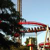 Rollercoaster ride at Tivoli