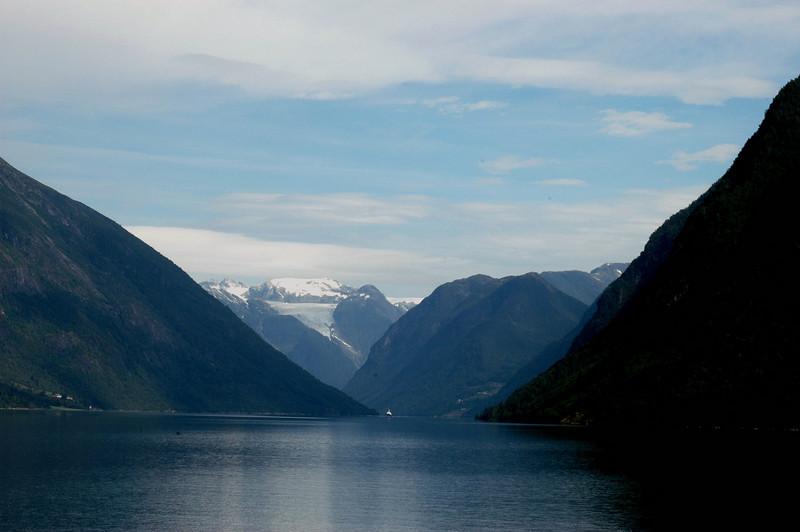 Fjaerland. On the route to Bristalbreen glacier.