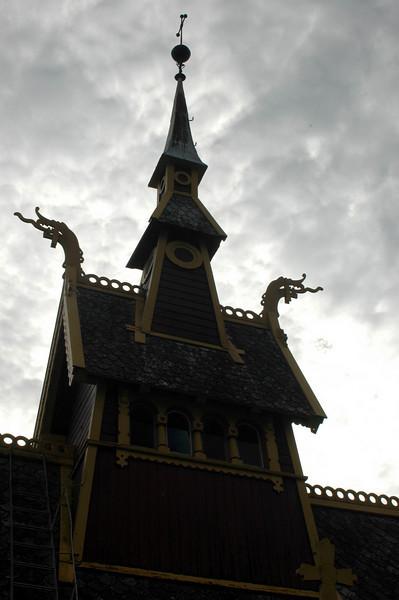 The Vikings still protect the English Church.