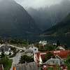 We took a rainy day ferry from Balestrand to Gudvangen.