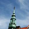 Ornate steeple