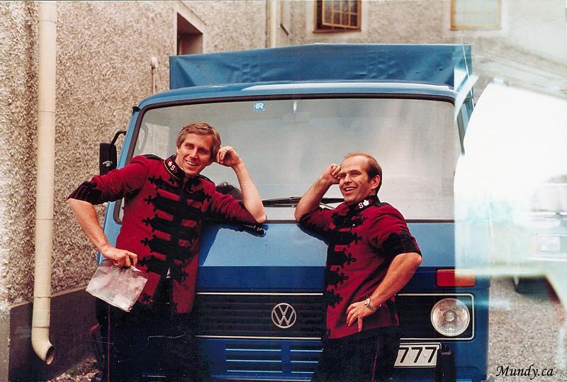 Graham and Bill.