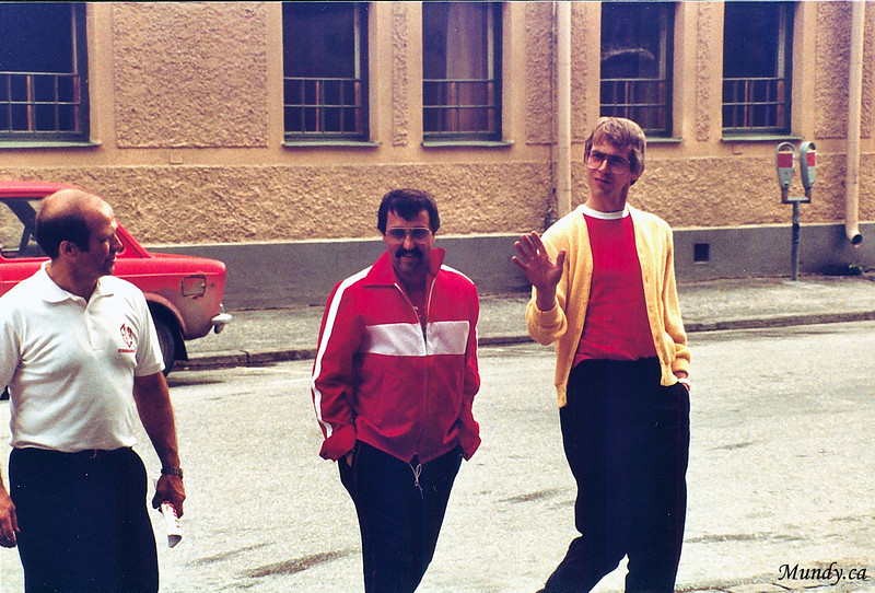 Bill, Bert, and Larry.