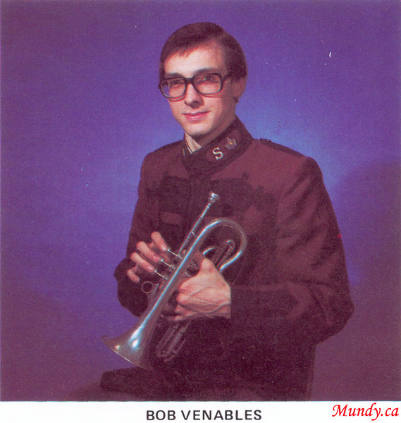 Bob was, and is, the best cornet player I have ever played in a band with ... and possibly the best I have ever heard.  He is a gifted talent, and has been very successful as a professional musician.