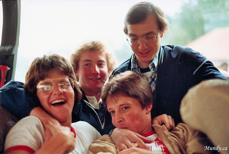 Rory Ring, Shaun Feguson, Scott Patterson, Bob Venables.