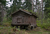 Historical log storage house