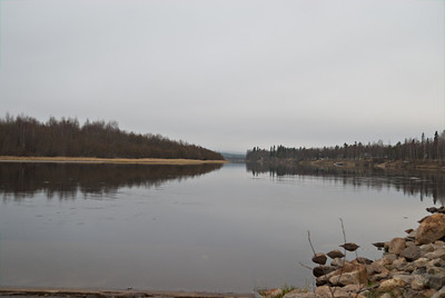 The river at Ivalo