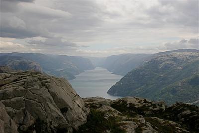 Lysefjord, Noorwegen.