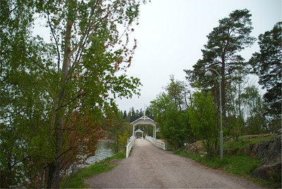 Bridge to Suersaari Historical Outdoor Museum, Helsinki