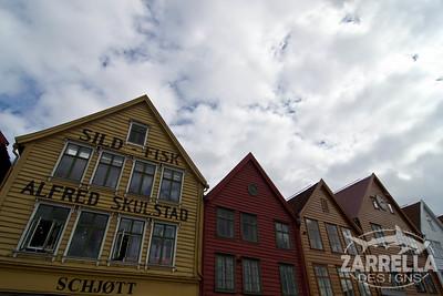 (Bryggen, Norway)