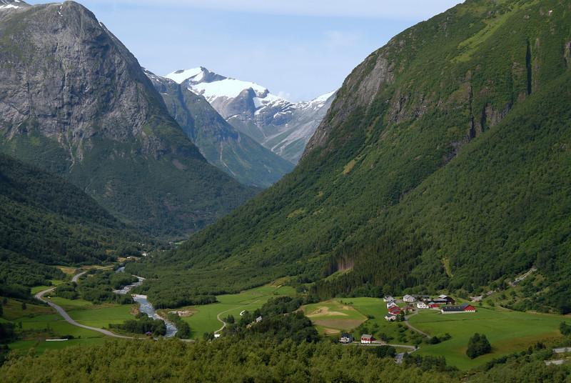 Valley near Geiranger