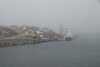 Honnigsvag, in the morning mist