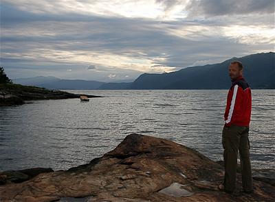 Hardangerfjord, Noorwegen.