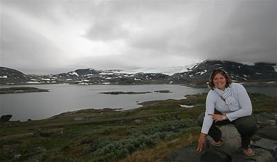 Sognefjellet Road, Noorwegen.
