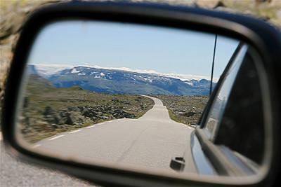 Aurlandsvegen, Noorwegen.